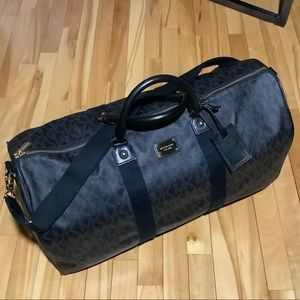 Michael Kors travel XL coated canvas leather bag